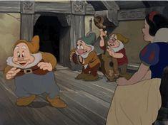 Animation Film, Disney Animation, Disney Magic, Walt Disney, Snow White Seven Dwarfs, Blu Ray Movies, Cartoon Gifs, Disney Addict, Disney Cruise Line