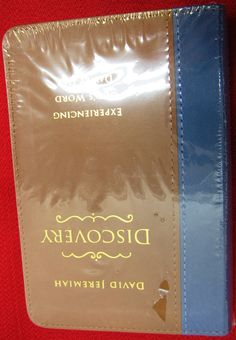 David Jeremiah Discovery Devotional  http://stores.ebay.com/thesalvationarmyonlinestore/?_dmd=2&_nkw=%28112%29