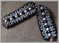 Eridhan Creations - Beading Tutorials: Simplicity - beaded bracelet - free pattern! :)