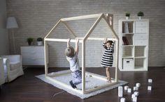 fabriquer-lit-cabane-bois-massif-chambre-enfant