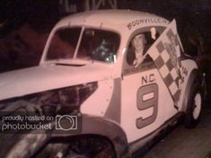 Click this image to show the full-size version. Rogersville Tennessee, Old Race Cars, Checkered Flag, Vintage Race Car, Car Makes, Pickup Trucks, Plymouth, Nascar, Antique Cars