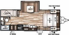 Floorplan of the 230BHXL
