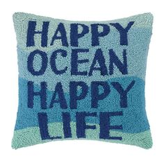 Happy Ocean Happy Life Hook Pillow