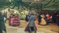 Dancing at Fezzywigs a the Dickens Fair