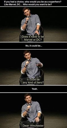 That's what makes a good hero. Someone who isn't perfect and knows this but still does the best they can anyways