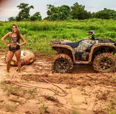 Atv Accessories To Make That Next Flight Memorable – The Towing Guide Cute Country Couples, Real Country Girls, Country Girl Life, Cute Country Outfits, Country Girl Quotes, Cute N Country, Country Women, Country Girl Truck, Country Dates