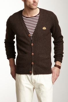 Faconnable Knit Cardigan Sweater by Fall Essentials on @HauteLook