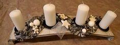 Vánoční dekorace, adventní věnce, vánoční dekorace na stůl - KVĚTINY-KLOFÁČOVÁ Pillar Candles, Christmas, Xmas, Navidad, Noel, Natal, Candles, Kerst