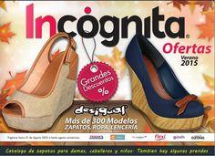 Catalogo de Ofertas Desigual Verano 2015 Mexico. Folleto de zapatos outlet.