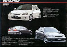 Mugen Power Catalog: Honda Civic EK9