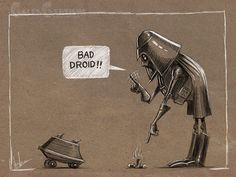 Star Wars Character Sketches on Behance