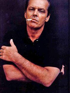 famous people smoking cigarettes: Jack Nicholson