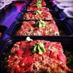 Paleo Eggplant Lasagna made with Ground Turkey from Primal Organic