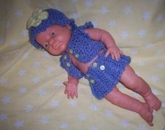 Baby Born, Crocheted 3 Piece Outfit