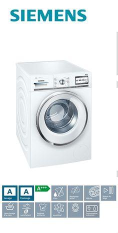 Lave-linge frontal - 60cm | Capacité : 1 à 9kg | Volume du tambour : 65L