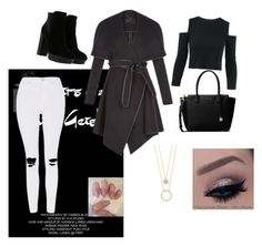 """""""Untitled #7"""" by lejla-bajric ❤ liked on Polyvore featuring Hogan, MICHAEL Michael Kors, BCBGeneration, Topshop and Kate Spade"""