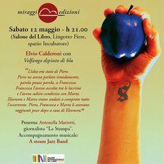 """""""Volfango dipinto di blu"""" in musica e parole con l'autore Elvio Calderoni e il gruppo A steam Jazz Band"""