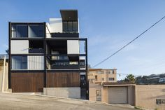 Completed in 2015 in Tijuana, Mexico. Images by Lorena Darquea. The project España8477 is generated when searchingfor a typology for a small-scale vertical housing building, where all users canenjoy a different...