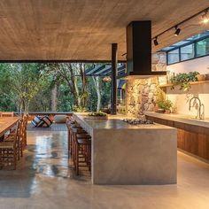 Modern Kitchen Design, Modern House Design, Modern Interior Design, Dream Home Design, My Dream Home, Open Concept Kitchen, Home Decor Kitchen, Home Fashion, Architecture Design