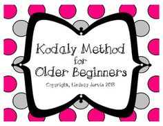 Perfect for anyone who will be at a school where the Kodaly Concept is new for students or for teachers who are going through their levels classes and need ideas for their older beginners! Kodaly For Older Beginners Benefits Of Music Education, Middle School Music, Music Classroom, Classroom Ideas, Elementary Music, Upper Elementary, Music Activities, Teaching Music, Music Lessons