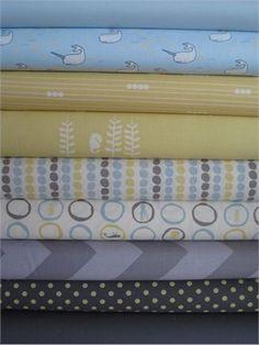 organic bundle.  ocean theme. Fabricworm Custom Bundle, Little Bubbles, 9 Total