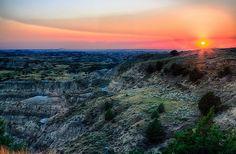 Theodore Roosevelt National Park - North Dakota, USA by Davoud D., via Flickr