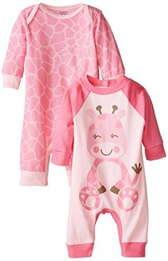 Gerber Baby-Girls Newborn Giraffe 2 Pack Coverall, Giraffe, 3-6 Months Gerber http://www.amazon.com/dp/B00W70PVI2/ref=cm_sw_r_pi_dp_4K31vb01P7A80