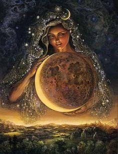La luna de Artemisa: Como diosa de la Luna y de la caza, personifica el espíritu femenino independiente .Es el arquetipo que permite a una mujer lograr sus propias metas en el terreno que ella misma elija. La mujer Artemisa se siente completa sin un hombre. También representa a la hermana, y es este atributo el que le lleva a solidarizarse con las mujeres y a defender sus derechos. Artemisa  traía y aliviaba las enfermedades de las mujeres; representa una preocupación por las mujeres oprimidas.