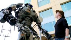 Wired Brings a 400-Pound Giant Robot to San Diego Comic Con 2013