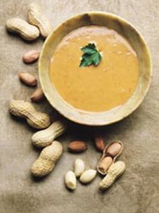 Peanut Soup from King's Arms Tavern, Colonial Williamsburg. I've made this several times ... Delicious!!