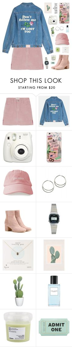 """""""YeahBunny✨"""" by jesicacecillia ❤ liked on Polyvore featuring Fujifilm, Gianvito Rossi, Casio, Dogeared, Urban Outfitters, Marc Jacobs, Davines and Kate Spade"""
