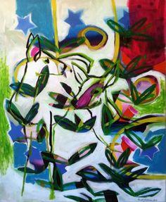 "Saatchi Art Artist Randi Antonsen; Painting, ""Living Together"" #art"