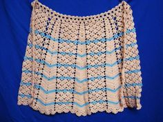 Pretty Vintage Hand Crochet Lace Apron by VerasLinens on Etsy