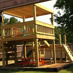 Kids new clubhouse and playground!