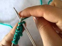 Impariamo il punto dritto a maglia..♤ - YouTube