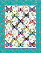 Flying Colors II Quilt by Laurel Burch free pattern on Clothworks Textiles at http://www.clothworkstextiles.com/pattern_download.asp?ID=323