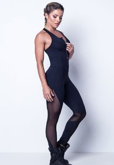 0114b67dbaa8 Athletic Trainer Yoga Sport Jumpsuit