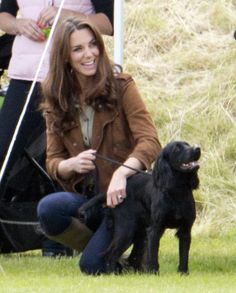 How The Royal Dog Is Handling The New Baby
