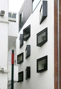 Vanhaerents project Museumboulevard by Lhoas & Lhoas Architectes