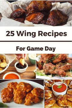 Wing Recipes for Game Day, Wing Recipes, Super Bowl recipes, march madness party ideas, snacks, chicken recipes, chicken wing recipes, march madness recipes