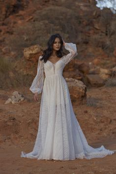 JOURNEY – Evie Young Bridal Off Shoulder Wedding Dress Bohemian, Long Sleeve Bridal Dresses, Bohemian Wedding Dresses, Wedding Dress Sleeves, Designer Wedding Dresses, Bridal Gowns, Wedding Gowns, Young Wedding, Bridal Gallery