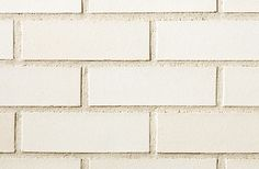 This company has whiter whites and purer grays. Alaska+White+Smooth Brick by Belden Brick