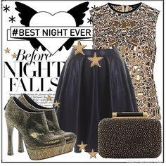 Metallic Dreams | Women's Outfit | ASOS Fashion Finder