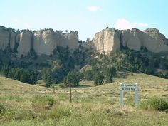 Fort Robinson State Park, a Nebraska State Park.  Western Nebraska's premier state park, Fort Robinson, west of Crawford, has it all -- with more than 22,000 acres of exquisite Pine Ridge scenery, compelling old west history, exceptional lodging, loads of fun-time activities, scenic camping and the park's own buffalo and longhorn herds.