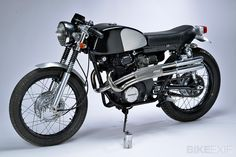 1969 Honda CB350. Super clean! Without this - motorcycling in America may have died