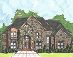 Superb Master Suite - 13515BY   European, Traditional, 1st Floor Master Suite, 2nd Floor Master Suite, Bonus Room, CAD Available, Den-Office-Library-Study, MBR Sitting Area, PDF, Corner Lot, Sloping Lot   Architectural Designs