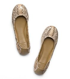 Snake Eddie Ballet Flat | Womens Flats | ToryBurch.com