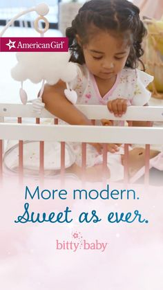 Soft, huggable, and instantly loveable 💕. Shop American Girl's Bitty Baby collection now! Baby Dolls For Toddlers, Toddler Toys, Toddler Girl Style, Bitty Baby, Child Doll, Doll Furniture, Doll Accessories, American Girl, Place Card Holders