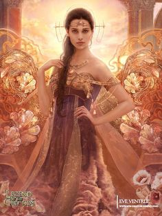 Eos (Greek) - A sunny natured Goddess whose name means dawn.