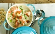 This scrumptious chowder is one of the most satisfying ways we know to get your omega-3s, and it's a great way to warm up a chilly evening. Make it a day ahead for company, reheating gently without boiling.